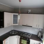aliuminio kampu virtuves baldai