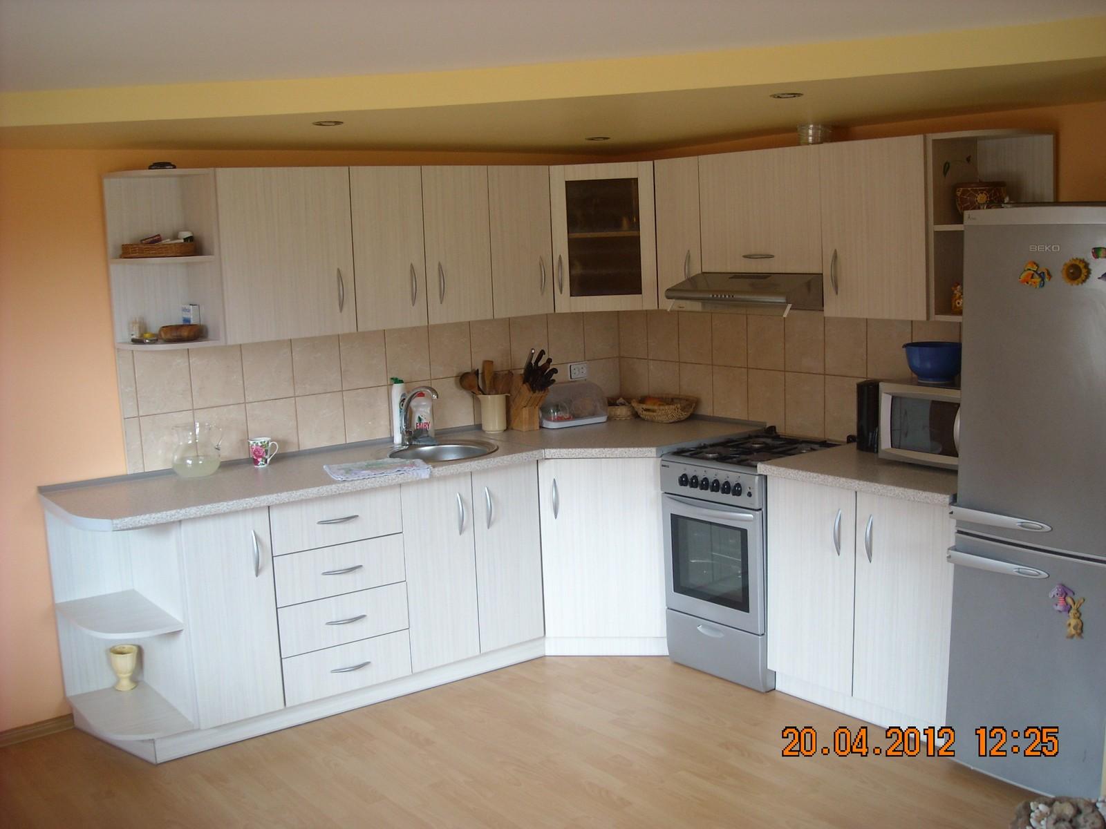 Virtuves baldai prymant