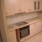 virtuvės baldai balintas ažuolas